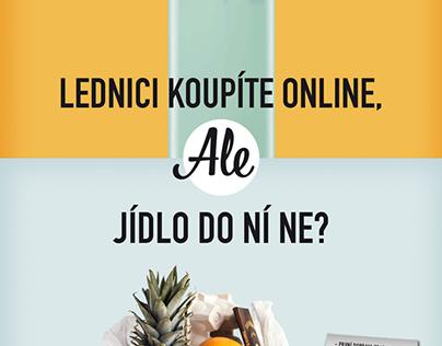 Rohlik.cz - Online campaign