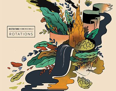 ROTATIONS Album Cover Art and Design