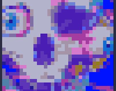 Biohazard Pixel Art by DinizBR ArtW