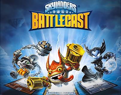 Skylanders Battlecast Website