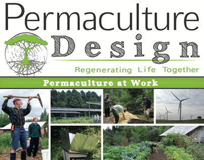 Magazine Cover: Permaculture at Work