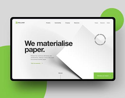 Art Direction, UI design: Rolland