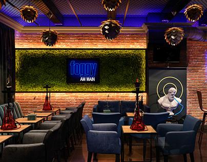 Shisha Lounge Bar Foggy Franfurt an Main