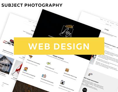 Web site studio photography