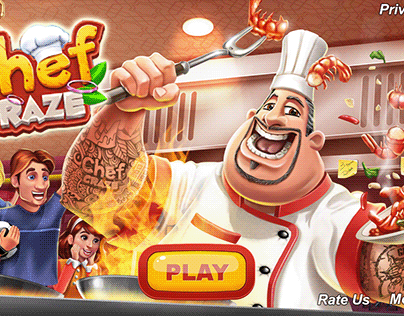 Splash Screens (Cooking Games)