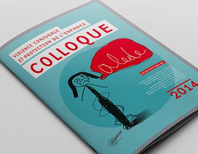 Brochure colloque violences conjugales