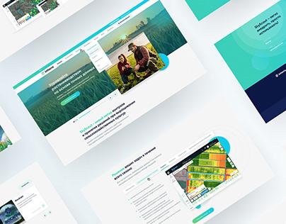 Инттерра х Корпоративный сайт // Intterra website