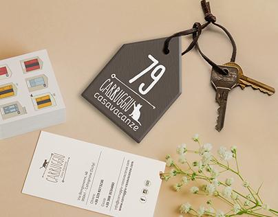 Brand identity, casa vacanze in Sicilia