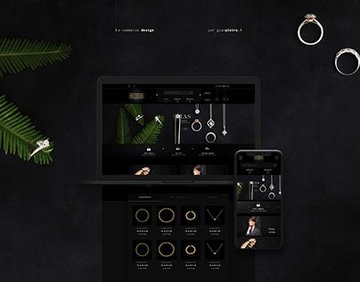 E-commerce Design - Gold Brasil