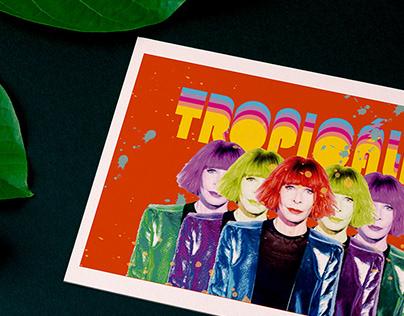 Cartão postal Tropicália