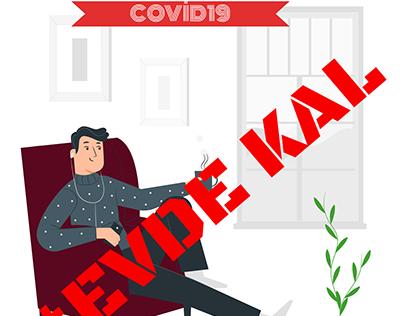 Covid 19 #EvdeKal