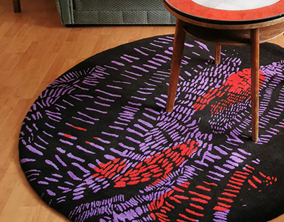 HJARTALAND/ wool carpet