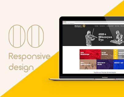 Muzisyenbul.net Responsive Design