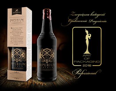 Imperium Prunum - beer packaging