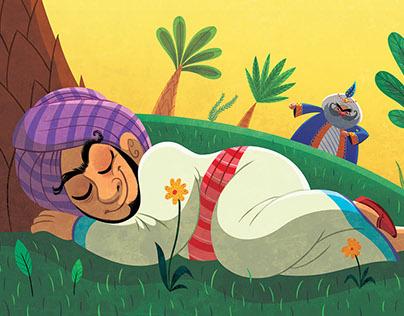 Illustration for the magazine Storytime issue 35