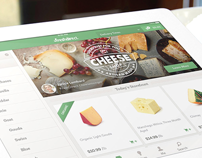 FreshDirect iPad app