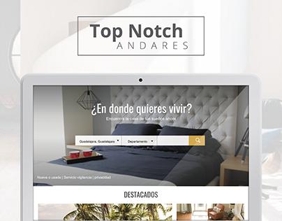 TopNotch Andares | Web Design