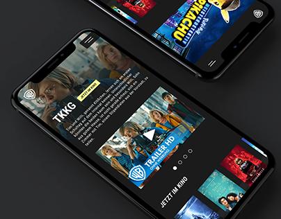 Warner Brothers Germany Website Facelift
