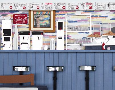 The ArtCliff Diner Breakfast Bar