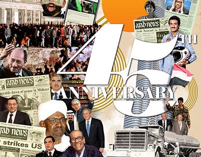 Arab News 45th Anniversary.