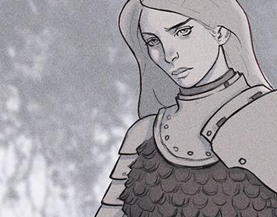 The Bride's Revenge - Character Design