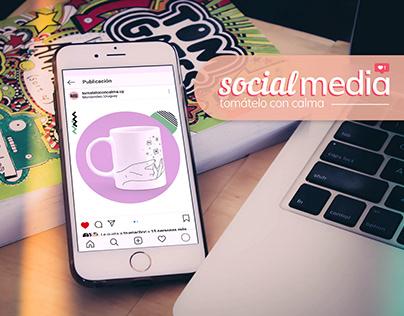 Social Media - Tomátelo Con Calma