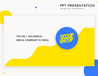 PPT Design for Scoopwhoop