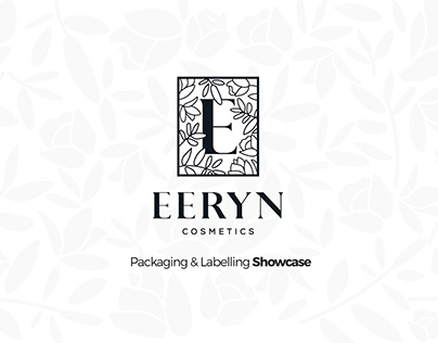 EERYN Cosmetics Packaging & Labelling Showcase