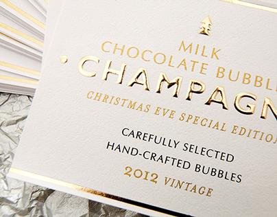 Milk Chocolate Bubbles Champagne