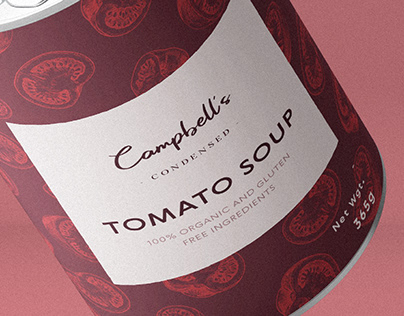 Campbell's Tomato Soup Redesign