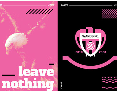 Waros FC. - Branding