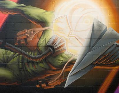 Pilot Rising Mural