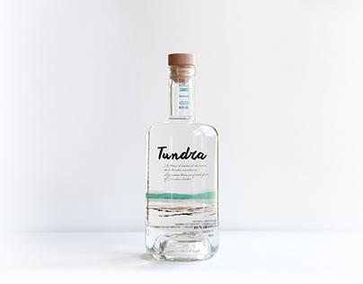 Packaging gin tundra / Ezi Brand Design