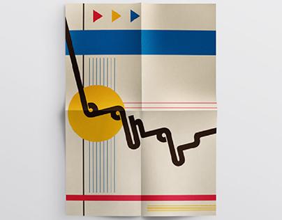 Bauhaus - Typoster