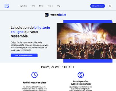 Redesign - Weezevent (2019)