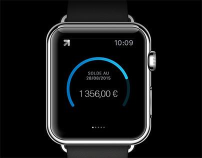 Boursorama Banque Apple Watch App