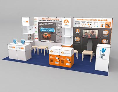 ALTYOR & NodOn - Booth design