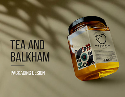 Tea and balkham packaging design