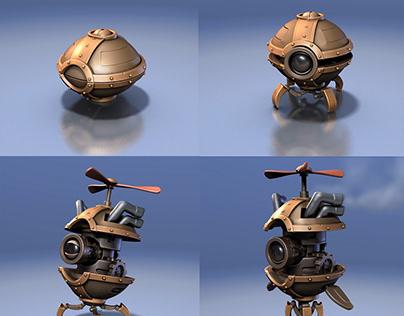 Little Transforming Robot