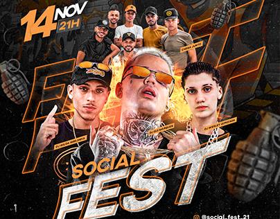FLYER - SOCIAL FEST