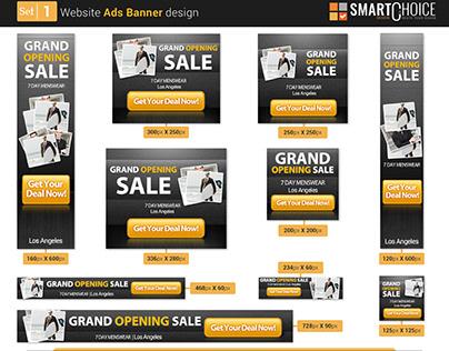 Website Ads Design