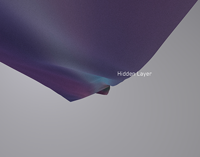Hidden Layer - digital art installation (IoT Data)