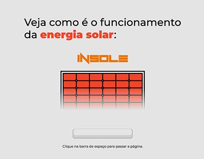 Insole - Infográfico Animado e Interativo