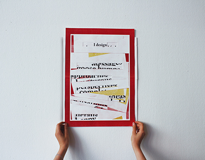 Typographical Self-portrait