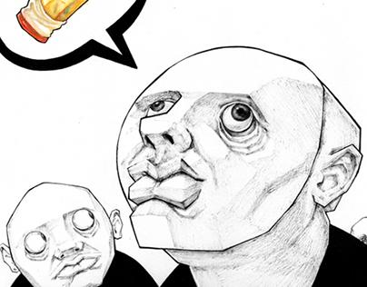 Ink Illustration II