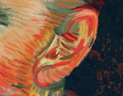 Vincent Van Gogh Self-Portrait 1887
