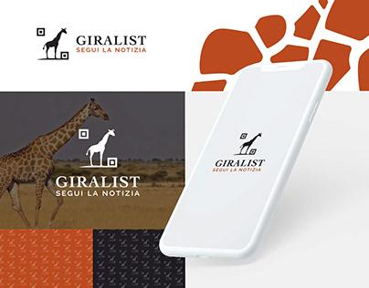 Giralist - logo design