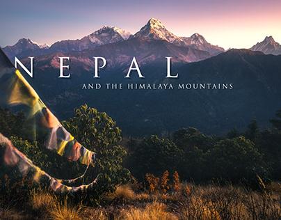 NEPAL AND THE HIMALAYA MOUNTAINS