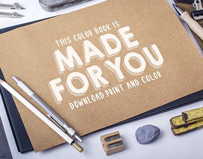 M.R. Milk Color Book