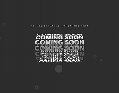 Coming Soon Animation